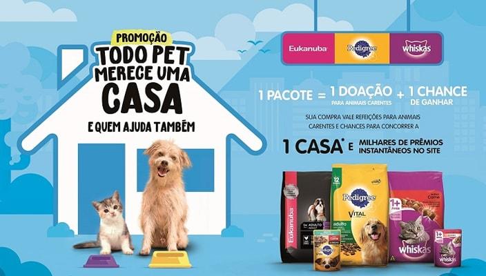 Todo Pet merece uma Casa e quem Ajuda também
